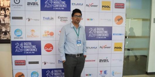 24ADP Me at Pune Digital marketing  Meetup 6th june 2015