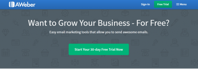 AWeber Email Marketing Software Email Marketing Newsletters