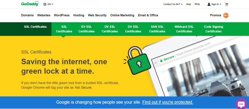 GoDaddy SSL Certificates Coupon codes promo codes - ssl certificate