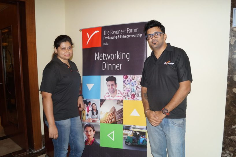 Payoneer Networking Dinner 31st May 2015 Bangalore 1