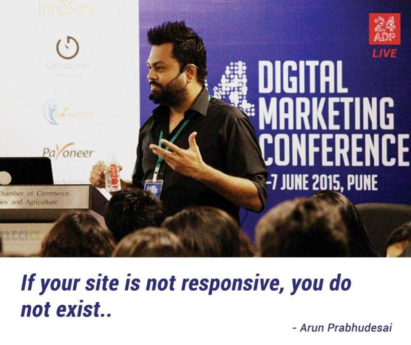 Pune 24adp digital marketing conference 2015 7th june
