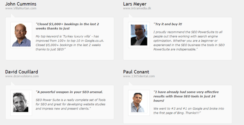 SEO powersuite testimonials