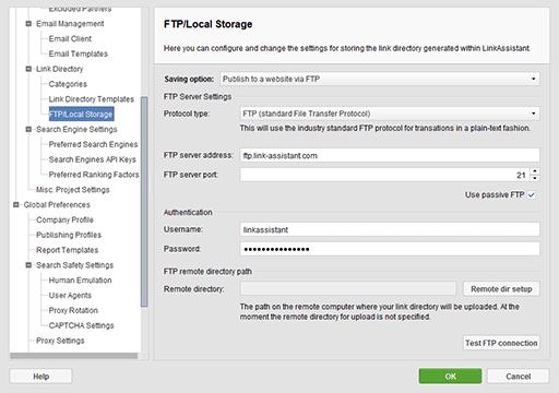 ftp-settings-sm - SEO Powersuite review