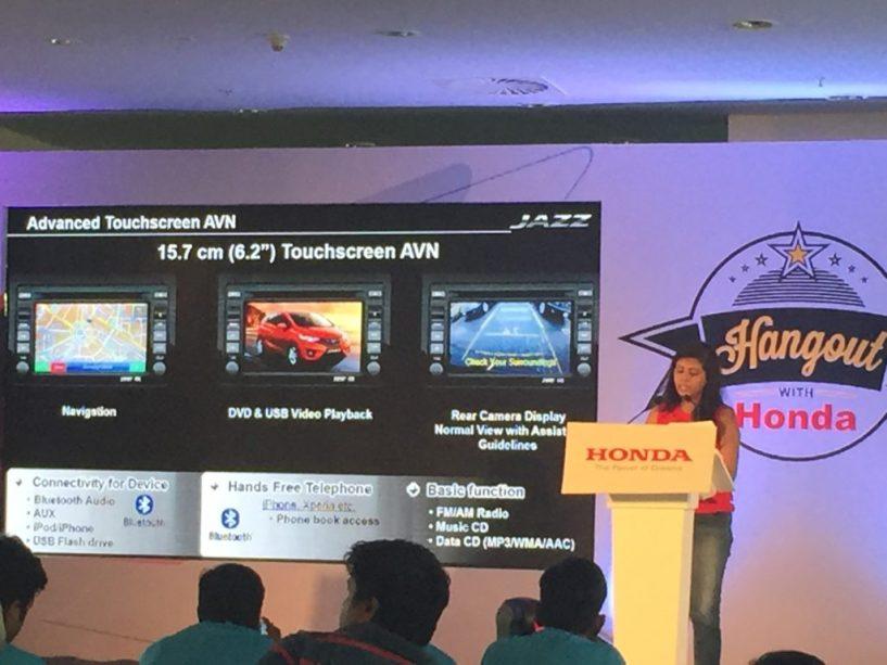 Honda jazz car specs at blogmint event