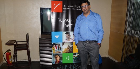 Payoneer Networking Dinner Delhi july 10th 2015 India Jitendra vaswani