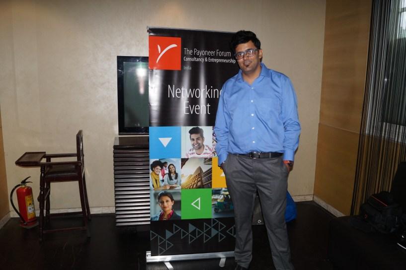 Payoneer Networking Dinner Delhi july 10th 2015 India Jitendra vaswani