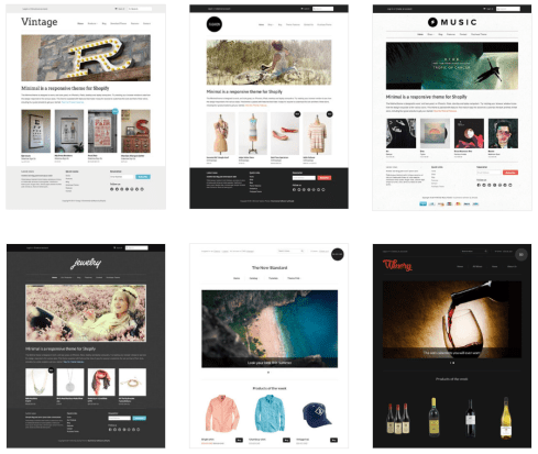 Start Your Online Store Now: Shopify Review:Shopify-Themes