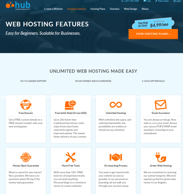 Web Hosting Hub Unlimited Hosting Features For Any Website