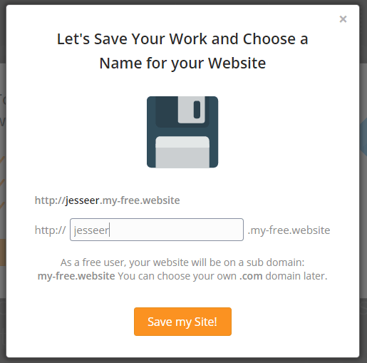 WebSiteBuilder.com Review Saving Site