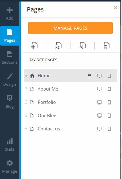 WebSiteBuilder.com review Tools