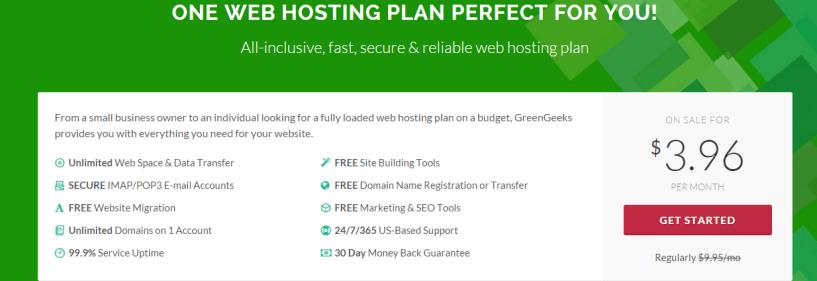 GreenGeeks Shared cPanel Web Hosting