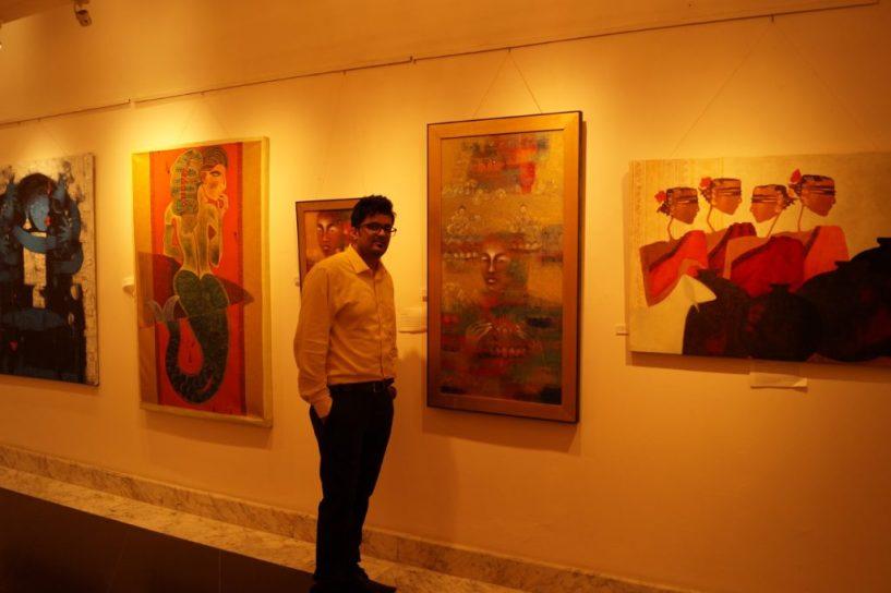 Hotel taj West End Bangalore beauty paintings (10)