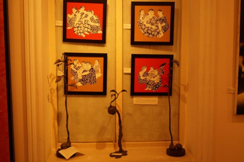 Hotel taj West End Bangalore beauty paintings (2)