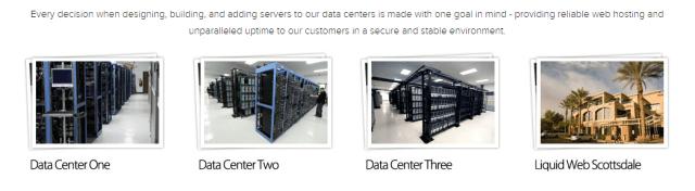 Liquidweb Data Centres