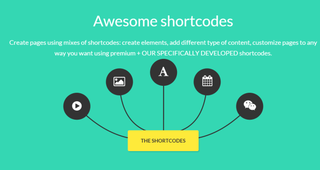Monstroid themes from templatemonster shortcodes