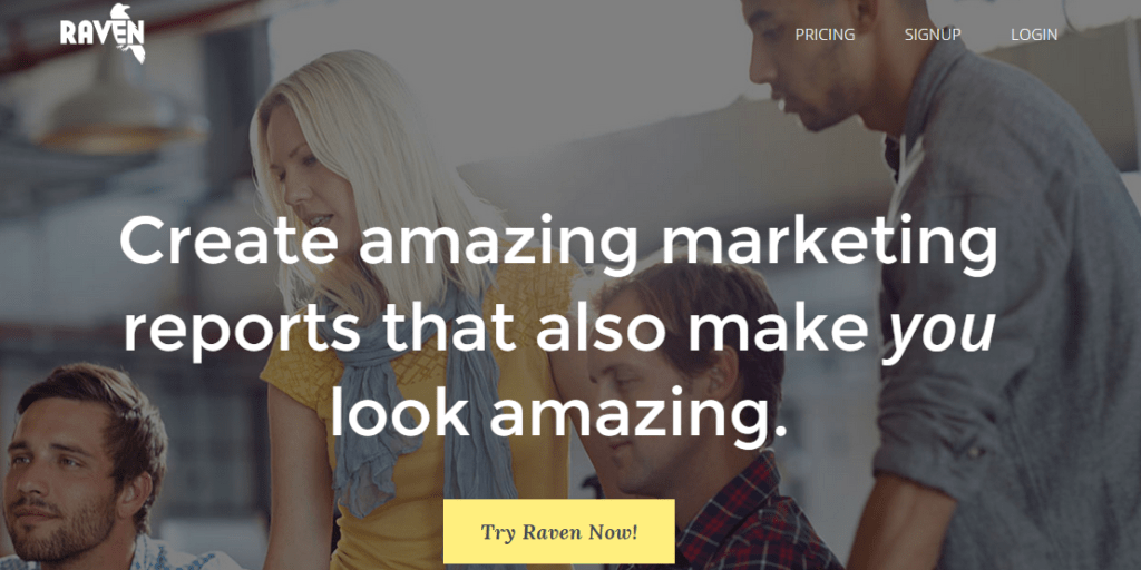 Raven Online Marketing Tools and Reporting Software
