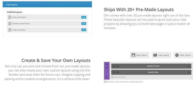 elegant themes  review layouts