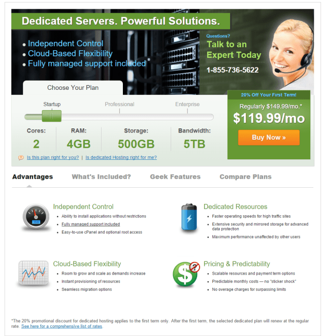iPage Dedicated Servers Managed Best Rated Dedicated Hosting