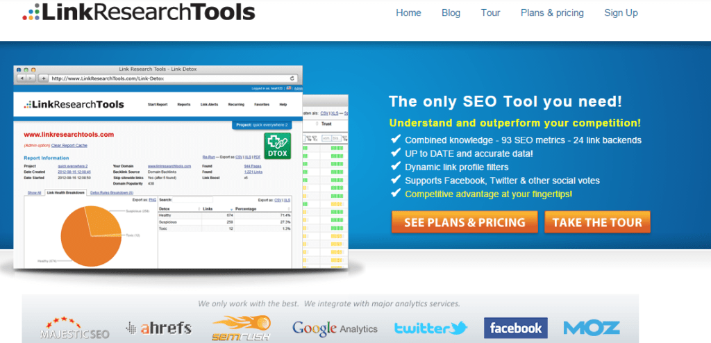 linkresearchtools Link Audit Link Building Tool for Professionals
