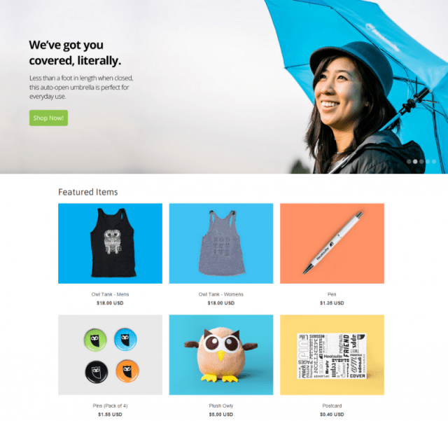 Hootsuite Shop review