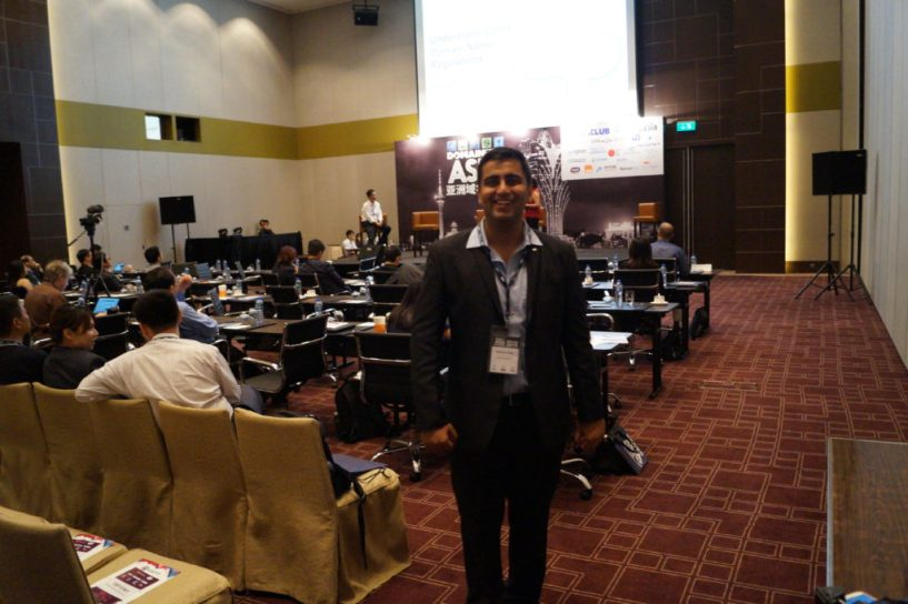 Siddhant Satija Domainfest 2015 Macau