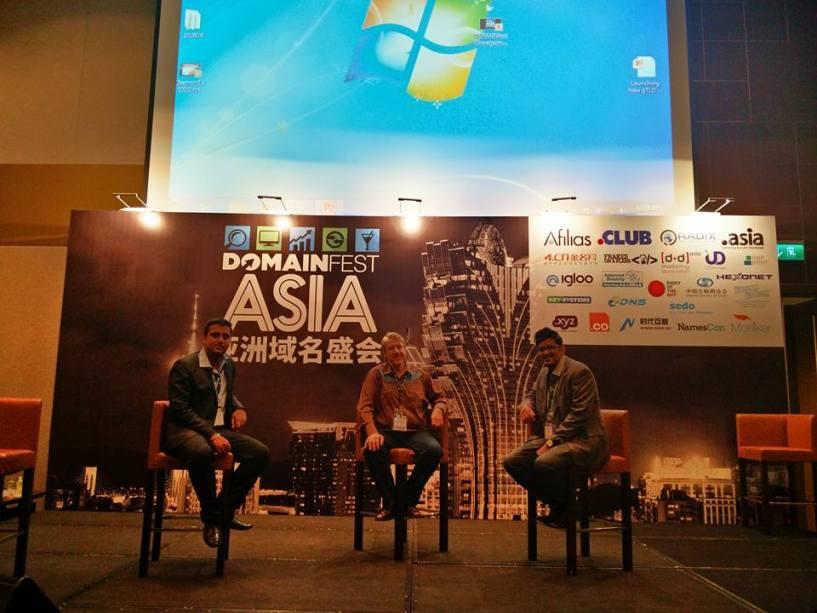 Jitendra Vaswani at DomainFest Asia