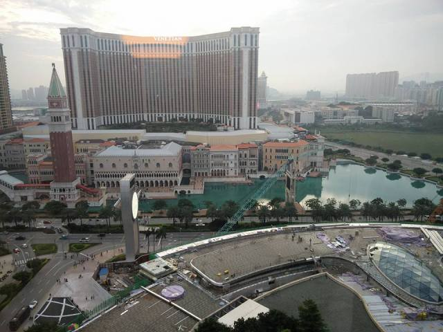 View from Hotel at Domain Fest Macau