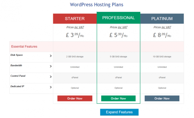Web Hosting UK WordPress Blog Hosting - Web Hosting Promo Code
