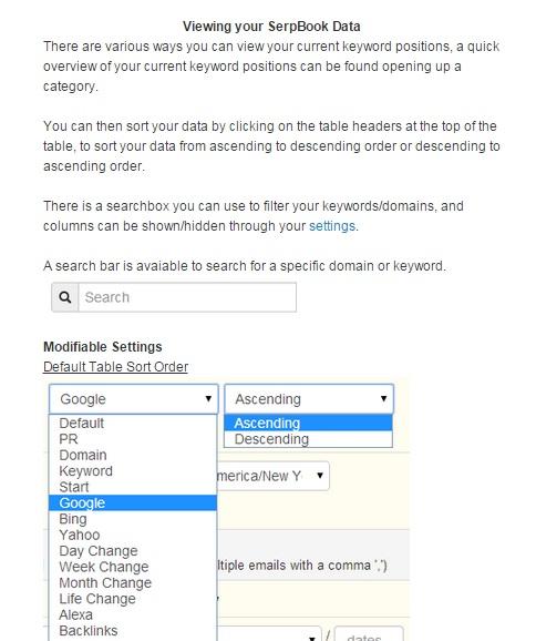 serpbook review data