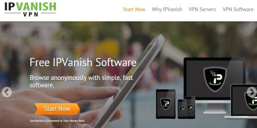 IPVanish - top Mac VPN provider