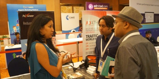 Payoneer at India Affiliate summit 2015  day 1