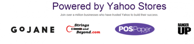 Yahoo online store