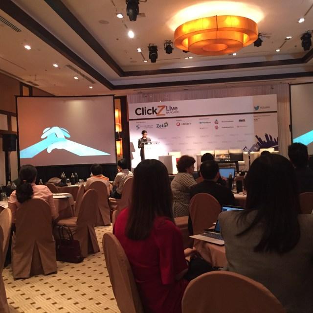 Clickz live bangkok 2015 inside view