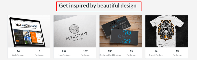Get inspired by beautiful design - DesignCrowd