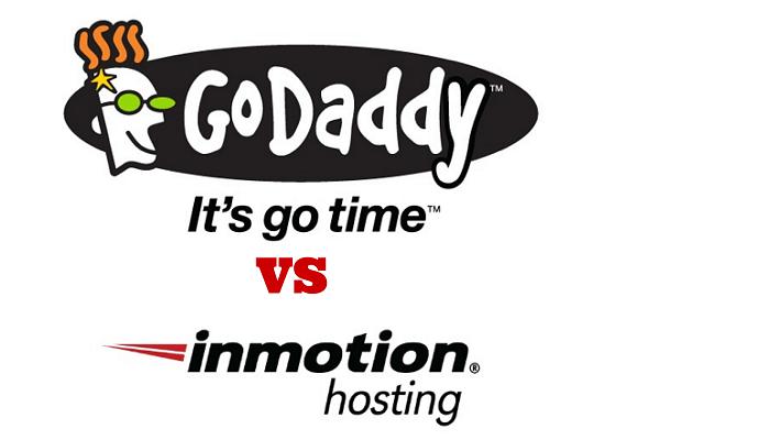 inmotion hosting vs godaddy