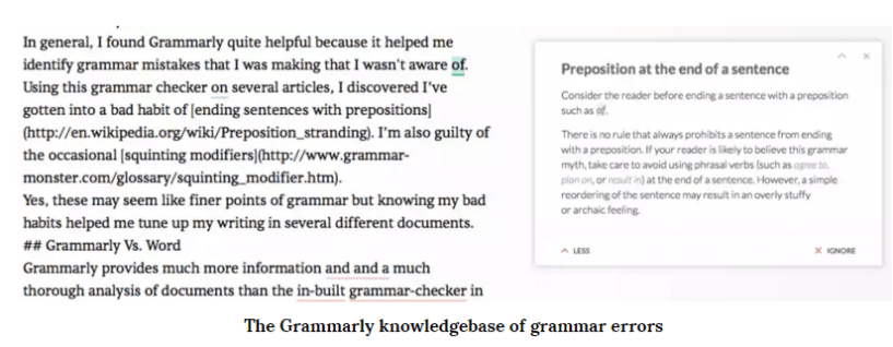 Grammarly other features
