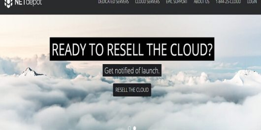 NetDepot Review homepage