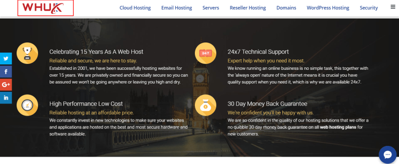 Webhosting Uk Services And Features