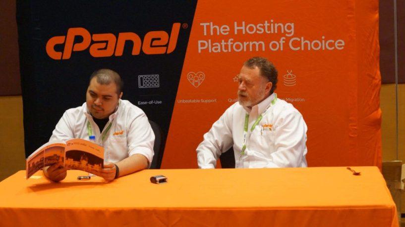 cpanel team at WHD mumbai 2015