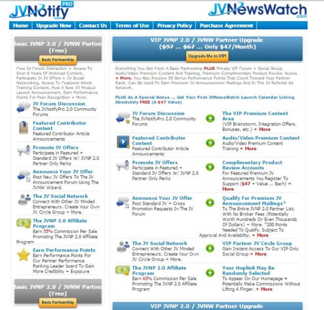 JVNotify Pro Free Vs Paid JVNotify(2)