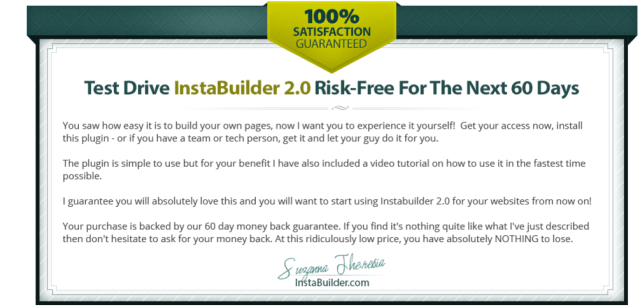 InstaBuilder 2.0 The Ultimate WordPress Marketing Plugin Guarantee
