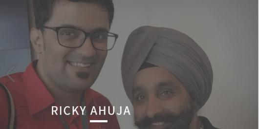 Ricky Ahuja interview