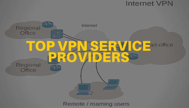 top best vpn service providers