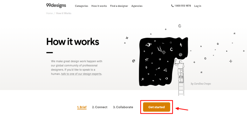 99designs review-How it Works