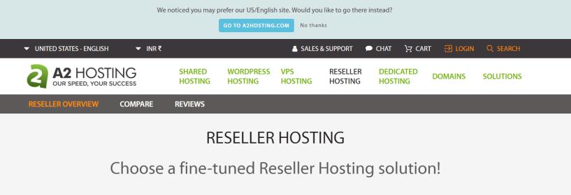 A2Hosting- Best Reseller Hosting