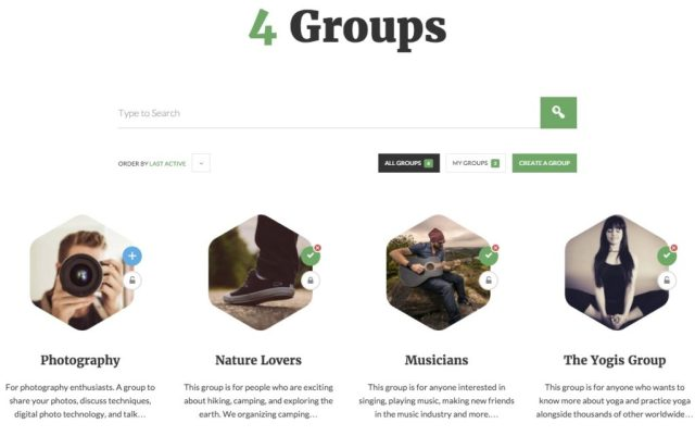 OneSocial A Refreshing BuddyPress theme for all types of BuddyPress sites (7)