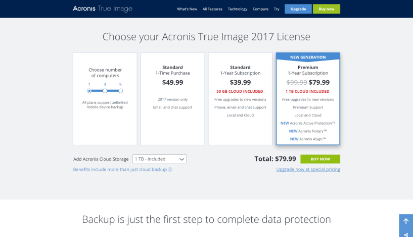 Acronis The Best Backup Software True Image