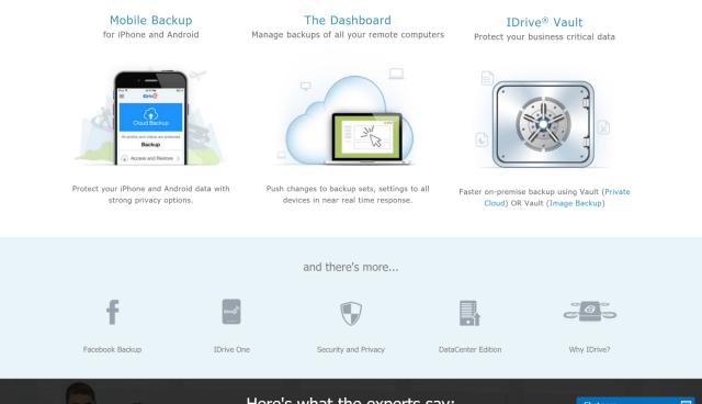 IDrive Best Online Backup