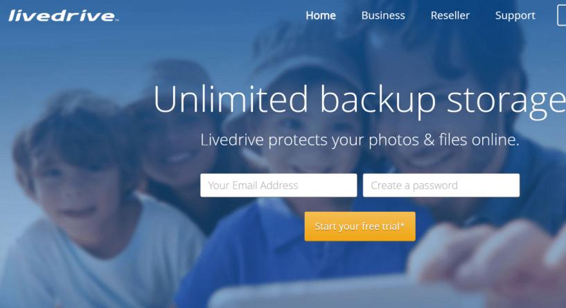Livedrive Cloud Storage Unlimited Online Backup