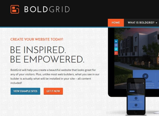 BoldGrid Review - Create a Web Site